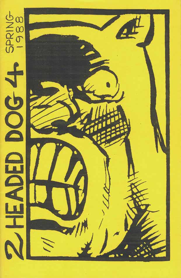 Cover - Two Headed Dog issue 4 - 1988